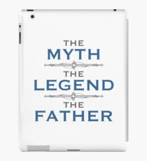 Myth Legend Father iPad Case/Skin
