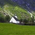 The little white church by Steve plowman