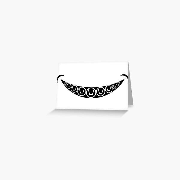 Swinger Symbols Smile Greeting Card