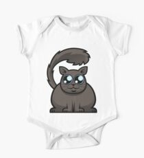 Brown Cat Kids Clothes