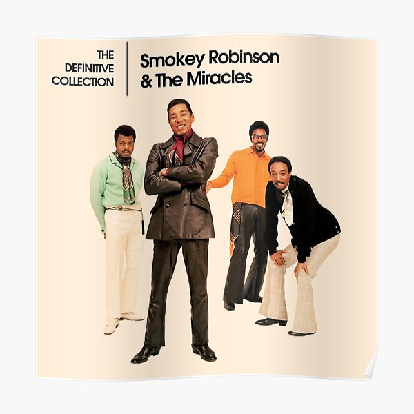 Smokey Robinson y los milagros Póster