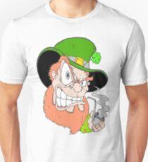 Angry Leprechaun Unisex T-Shirt