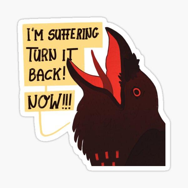 Allan's worst day Sticker
