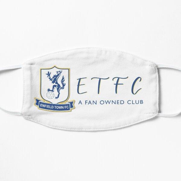 Enfield town football club - ETFC a fan owned club  Flat Mask