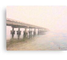 Manatee Mist Canvas Print