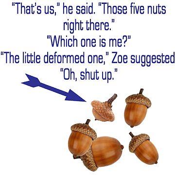 """Percy Jackson """"Nuts"""" Quote by kaikai7"""