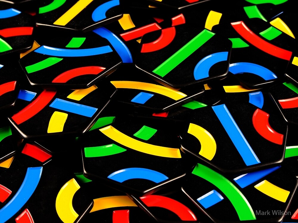 Tantrix Tile Colours by Mark Wilson