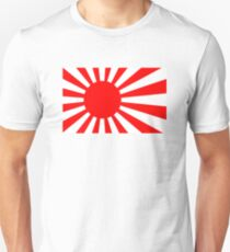 Rising Sun Flag of Japan T-Shirt