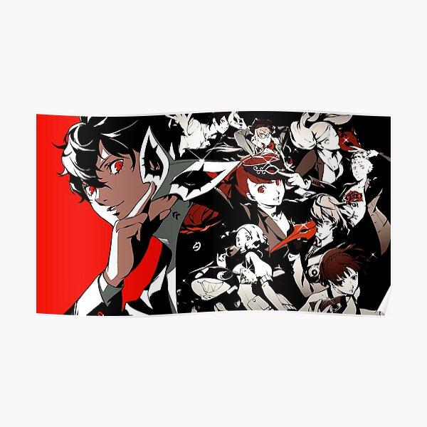 Persona 5 character artwork Poster