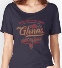 Glenn's Pizza Women's Relaxed Fit T-Shirt
