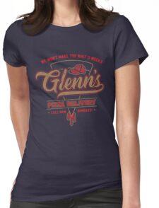 Glenn's Pizza Womens Fitted T-Shirt