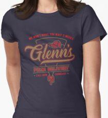 Glenn's Pizza Women's Fitted T-Shirt