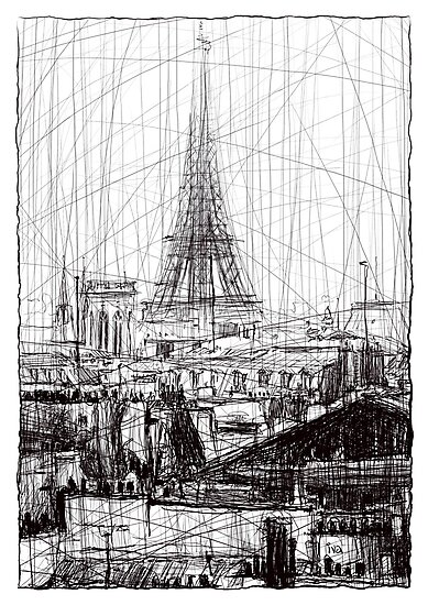 Paris 10 by Tatiana Ivchenkova