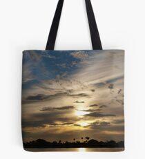 Swirling in the sky Tote Bag