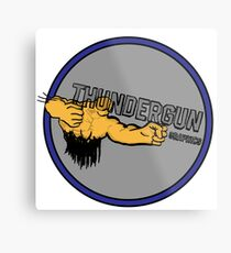 ThunderGun Graphics Metal Print