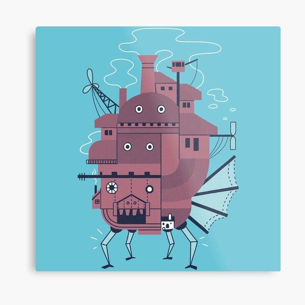 Moveable Castle Metal Print