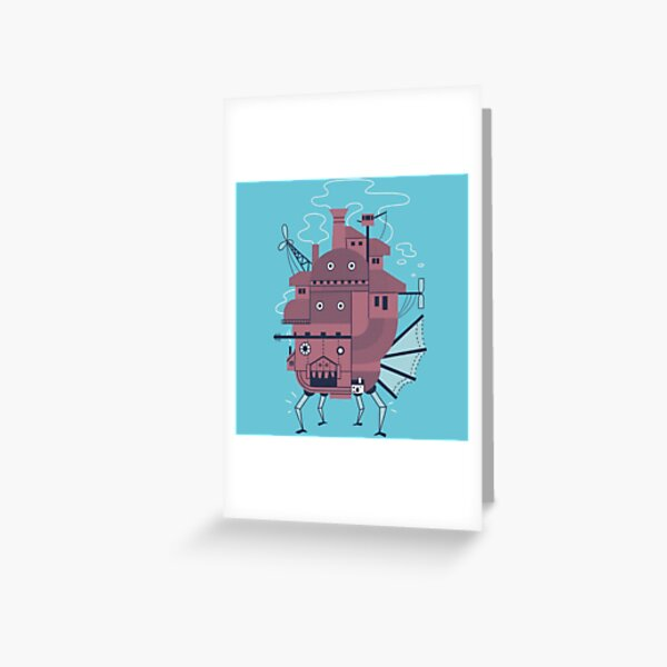 Moveable Castle Greeting Card