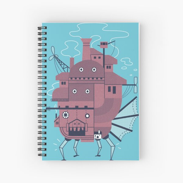 Moveable Castle Spiral Notebook