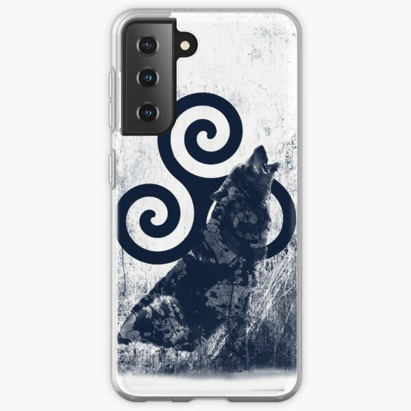 Triskele and Wolf Samsung Galaxy Soft Case