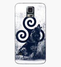 Triskele and Wolf Case/Skin for Samsung Galaxy
