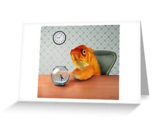 A Fish Out of Water Greeting Card
