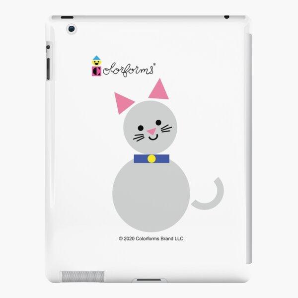Colorforms Grey Cat iPad Snap Case