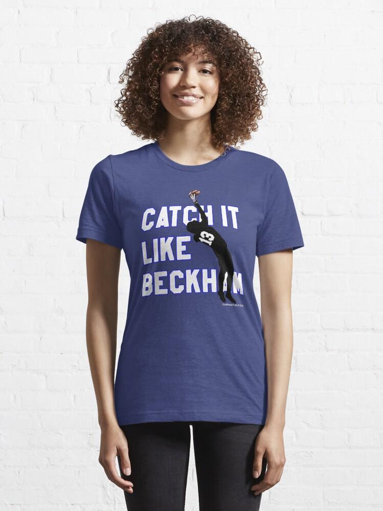 Alternate view of Catch it Like Beckham 13 Essential T-Shirt