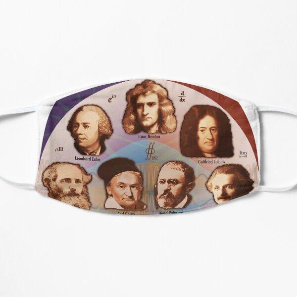 Some Math, Physics, and Quantum Mechanics Greats Mask