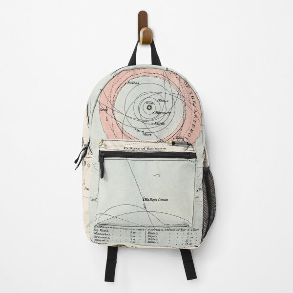 Vintage Map of The Solar System (1900) Backpack