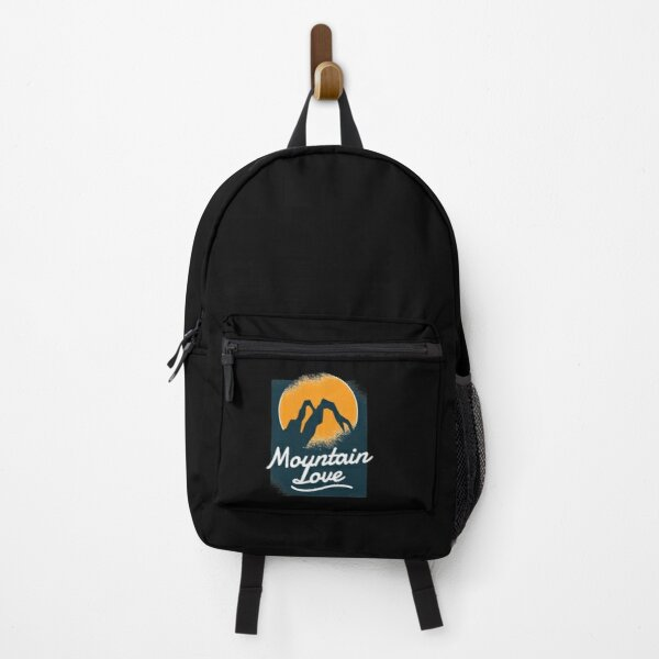 Mountain Love Design Backpack