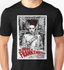 Bride of Frankenstein. Elsa Lanchester. Movie. Horror.  Unisex T-Shirt