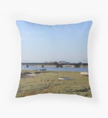 Walney Channel  Throw Pillow