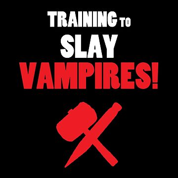 Training to Slay Vampires! by Cosmodious