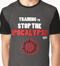 The Winchesters - Training to Stop the Apocalypse! Graphic T-Shirt