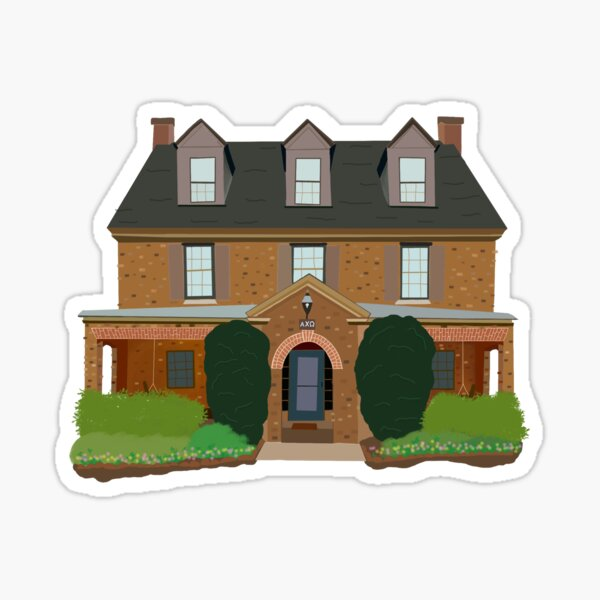 Alpha Chi William and Mary Sticker