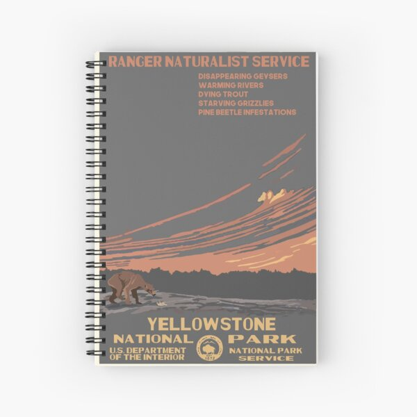 National Parks 2050: Yellowstone Spiral Notebook