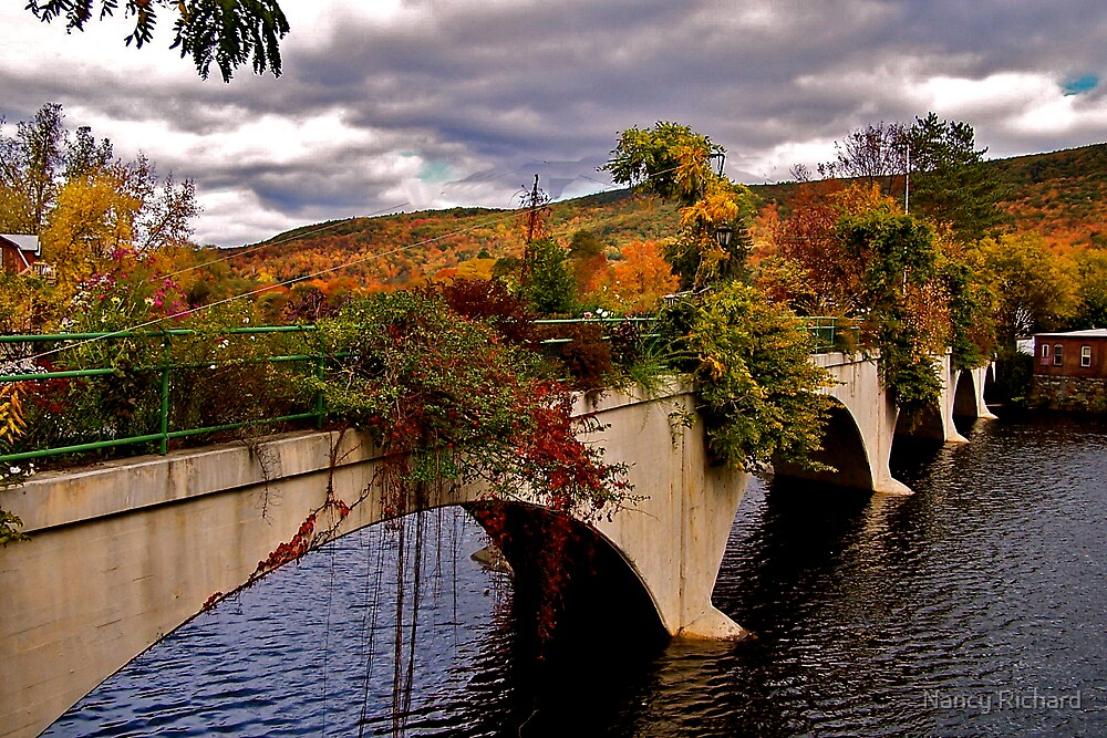 Bridge of Flowers by Nancy Richard