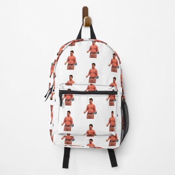 Shirtless Gibby CapriSun Backpack