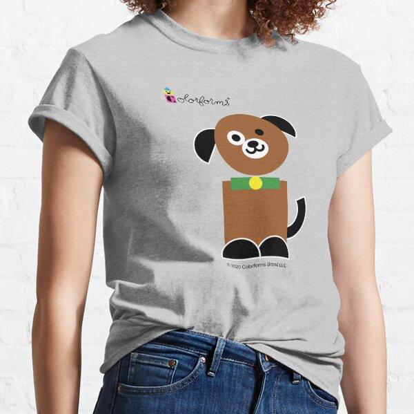 Colorsforms Brown Dog Classic T-Shirt