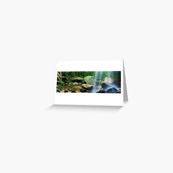 Horseshoe Falls, Hazelbrook, New South Wales, Australia Greeting Card