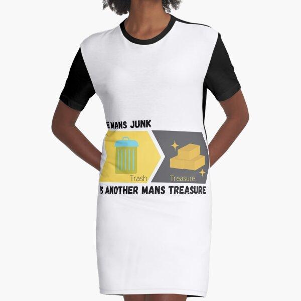 MANS JUNK Graphic T-Shirt Dress