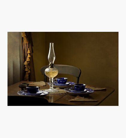 Table Setting Photographic Print