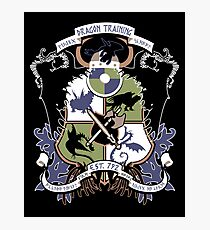Dragon Training Crest - How to Train Your Dragon Photographic Print