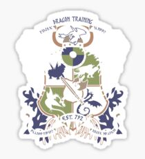 Dragon Training Crest - How to Train Your Dragon Sticker