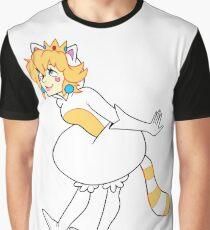 Tanooki Peach Graphic T-Shirt