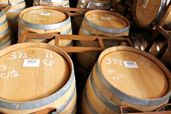 Wine Casks by pwally777