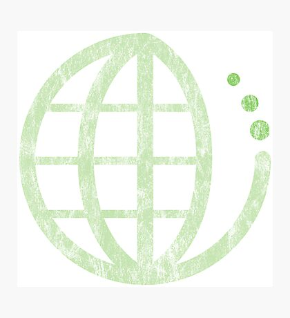 ecoecho : green earth Photographic Print