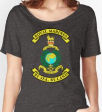 Royal Marines Women's Relaxed Fit T-Shirt