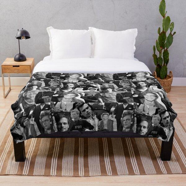 Matthew Gray Gubler Collage Throw Blanket