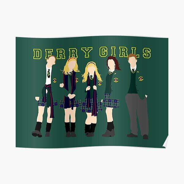 Derry Girls minimalist art Poster